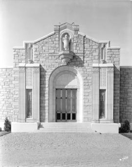 "[""The Abbey"" mausoleum at Ocean View Cemetery]"