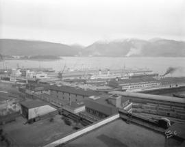 [View of the harbour from Spencer's Department Store]