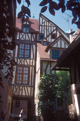 Architecture : Rouen 15th - 16th century style