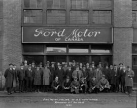 Ford Motor Dealers of B.C. Convention. Vancouver, B.C. Jan. 22-23, 1923