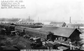 C.P.R. STATION AND DOCK, VANCOUVER