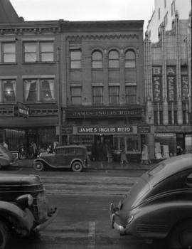 [Exterior view of James Inglis Reid, Ltd. on Granville Street]