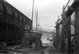 Foot of Gilford, steel ketch, built Hamburg