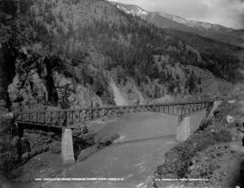 Cantilever Bridge crossing Fraser River, Cisco, B.C.