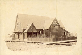 [Exterior of St. James' Church on Gore Avenue]