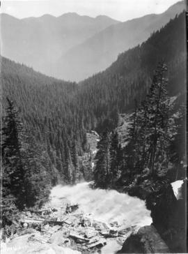 [Rushing water in the Fraser Canyon]
