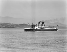 [The 'Lady Cecilia' in Vancouver harbour]