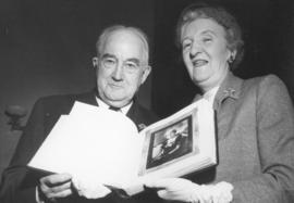 [Major J.S. Matthews and Mrs. Jean Gibbs, Honourary Life Members of the Vancouver Council of Women]