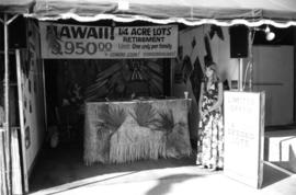 Hawaiian real estate display