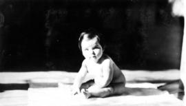 Jane [Banfield], 8 months old, Easter