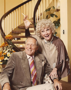 Hugh Pickett and Phyllis Diller [at] Plaza International