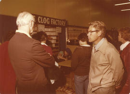 The Clog Factory display booth