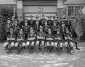 34th St. George's Scout Troop 1950-1951