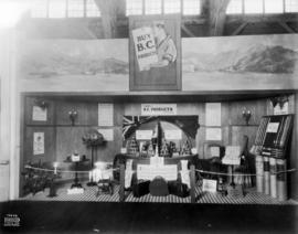 Exhibit of British Columbia products