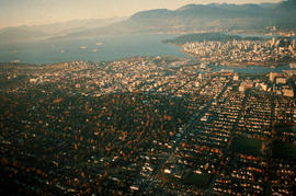 Geographical : Aerial of Vancouver