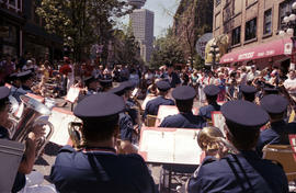 Fire Department Band performing