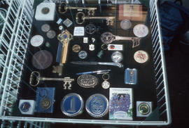 Key and medal display at Park Royal