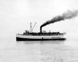 "[Steamer ""Capilano"" (II) - Port side view]"