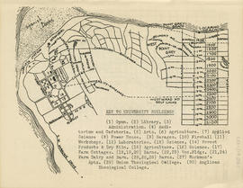 Sectional map and street directory of Vancouver, British Columbia : key to university buildings