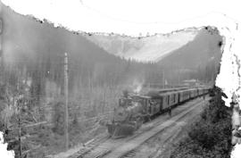 C.P.R. Express and great glacier