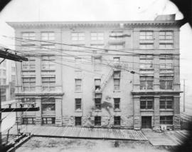 [Job no. 22 : photograph of a warehouse built for McClary Manufacturing Co.]