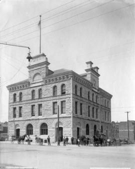 Post office [and customs house], Vancouver [South West corner of Granville and Pender Street]