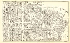 Sheet S.V. 10 : Dumfries Street to Fairmont Street and Twenty-seventh Avenue to Thirty-seventh Av...