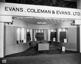 Evans, Coleman and Evans display of building products