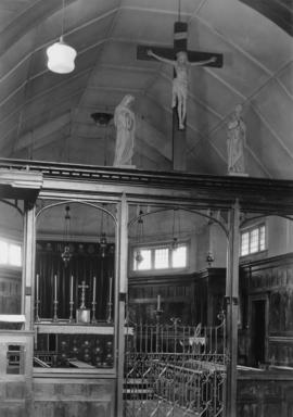 Chancel of St. James' Church [303 East Cordova Street]