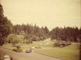 Stanley Park, entrance and roadway