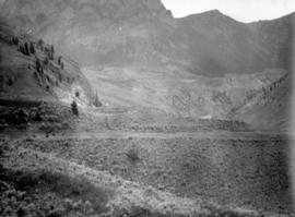 [View of unidentified valley]