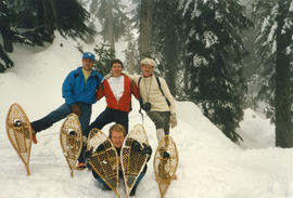 Out and About : skiing Manning Park 1987 : Norman Hale