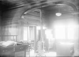 Bank of Hamilton [interior view, Port Hammond, B.C.]
