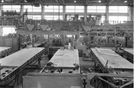 [Interior of Boeing aircraft plant, Sea Island]