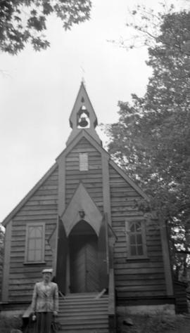 [St. John's Church after restoration]