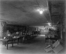 [Interior of Woodward's Department Store at Hastings Street and Abbott Street]