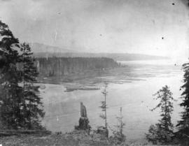 [View of the First Narrows from Prospect Point]