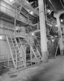 Interior of plant [at] Pacific Mills