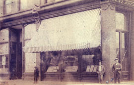 [Exterior of E.V. Bodwell's real estate office - 301 Cordova Street]