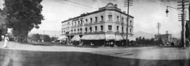 [The northwest corner of Georgia Street and Granville Street]