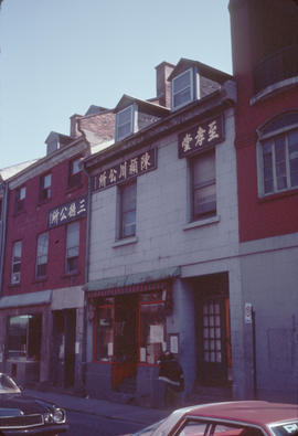 Buildings in Montreal Chinatown