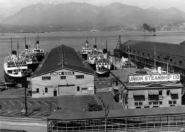 [Union Dock and terminal building]