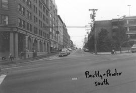 Beatty and Pender [streets looking] south