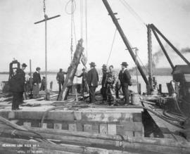 Removing Log Pier No. 3