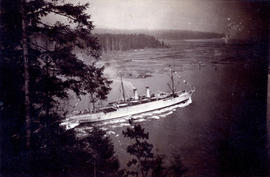 "[""Empress of India"" entering First Narrows]"