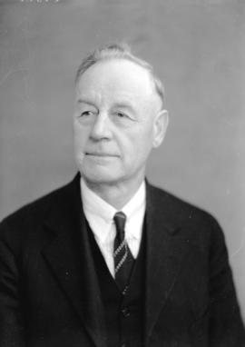 [Head and shoulders portrait of] Reeve T.W. Fletcher of Point Grey