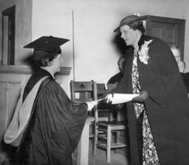 [The first woman to graduate from Union College at the University of British Columbia]