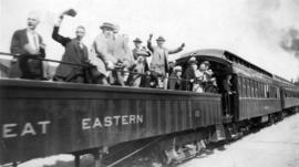 Board of Trade Excursion on the P.G.E. [Pacific Great Eastern]
