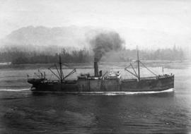 Harrison liner in First Narrows