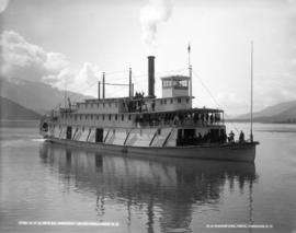 C.P.R. CO's S.S. Kootenay on Columbia River, B.C.